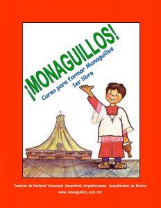Portada del Primer libro Monaguillos. Curso Básico