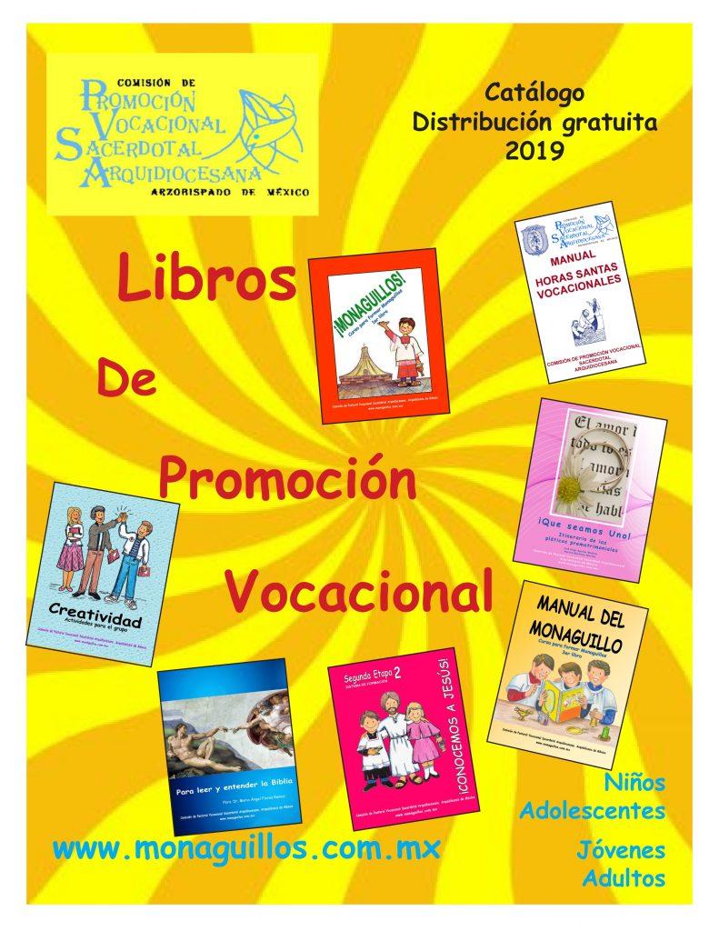Catálogo del libros de la Comisión